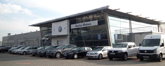 Darius Motors Ploiesti, vanzari si service autorizat Volkswagen si service Audi