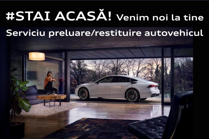 Preluare și restituire autovehicul Audi
